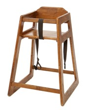 light wood high chair for hire
