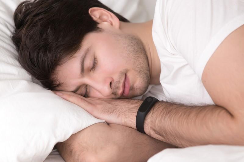 Man in deep sleep